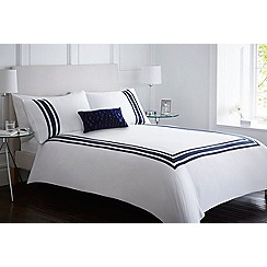 J by Jasper Conran - White 'Clerkenwell' bedding set
