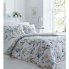 Home Collection - Blue printed 'Everly' bedding set