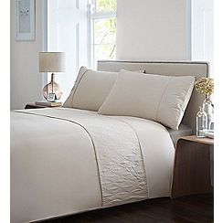 Home Collection - Gold textured 'Agnes' bedding set