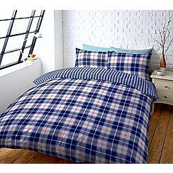 Help for Heroes - Checked bedding set