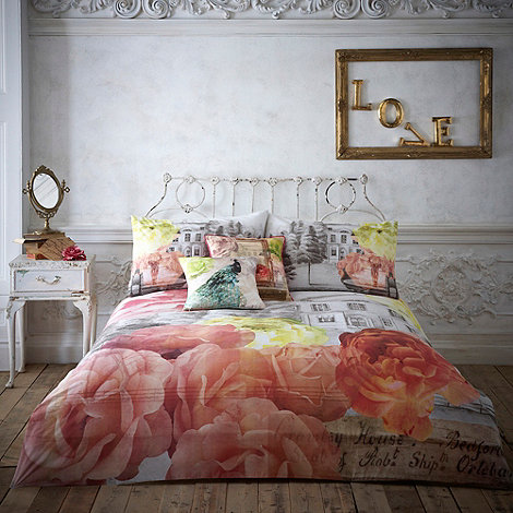 Butterfly Home by Matthew Williamson - Peach +Georgette+ bedding set