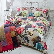 Natural 'Kaleidoscope' bedding set