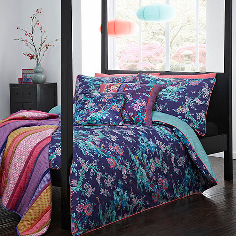 Butterfly Home by Matthew Williamson - Matthew Williamson purple +Japanese+ chinoise bedding set