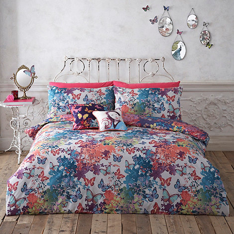 Butterfly Home by Matthew Williamson - Designer blue +Fantasy Butterflies+ bedding set