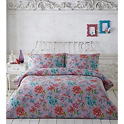 Butterfly Home by Matthew Williamson - Multi-coloured floral 'Bloomsbury' bedding set