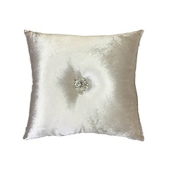 Kylie Minogue at home - Oyster 'Serafina' cushion