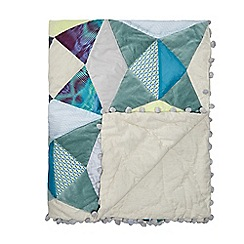 Butterfly Home by Matthew Williamson - Multi-coloured geometric print throw