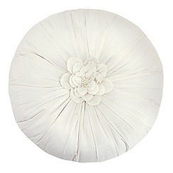 Star by Julien Macdonald - Ivory 'Arienne' oyster cushion