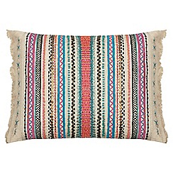Butterfly Home by Matthew Williamson - Multi-coloured embroidered cushion