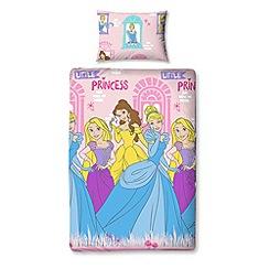 Disney Princess - Kids  Pink  Princess Boulevard  duvet cover and pillow set