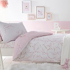 Baker by Ted Baker - Pink 'Blossom' bedding set