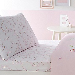 Baker by Ted Baker - Pink 'Blossom' fitted sheet set