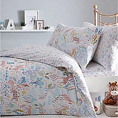 bluezoo - Multicoloured 'Tropical safari' bedding set