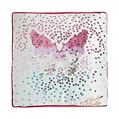 Baker by Ted Baker - Sequin butterfly cushion