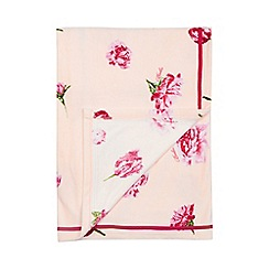 Baker by Ted Baker - Baby girls' light pink floral print throw