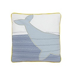 J by Jasper Conran - Multi-coloured whale cushion