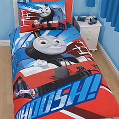 Thomas & Friends - Children's blue 'Thomas the Tank Engine' bedding set