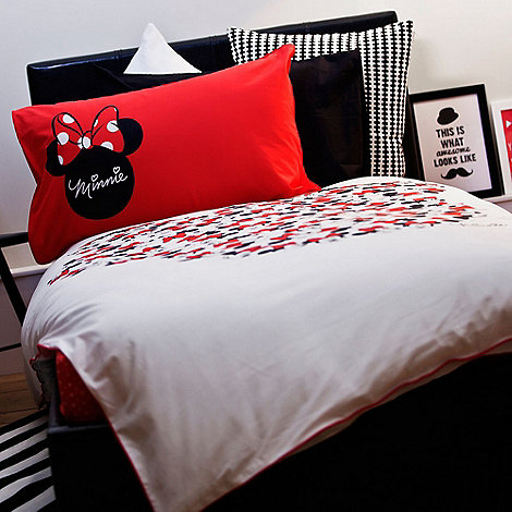 Minnie Mouse duvet cover and pillow case set