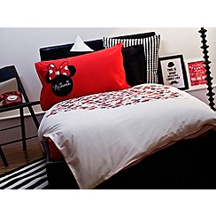 Disney Black - Disney 'Minnie Icon' bedding set