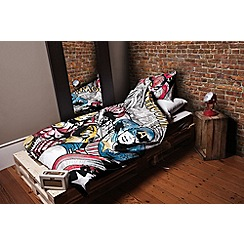 Disney Black - Disney 'Marvel Comics' bedding set