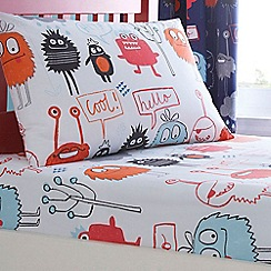 Ben de Lisi Home - Kids 'Monsters' fitted sheet set
