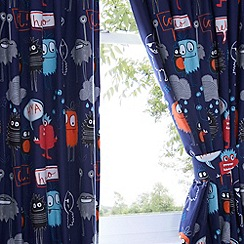Ben de Lisi Home - Kids 'Monsters' pair of curtains