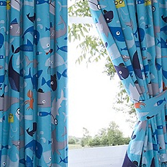 Ben de Lisi Home - Kids 'Sharkey' pair of curtains