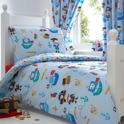 bluezoo kids pirates toddler bedding set at