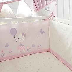 bluezoo - Light pink bunny print bumper