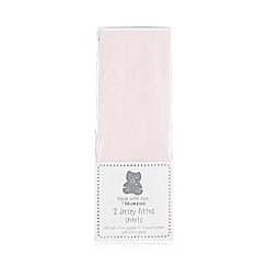 bluezoo - Light pink fitted sheet
