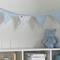 bluezoo - Blue bunny print bunting