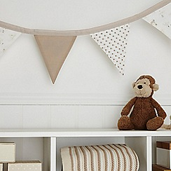 bluezoo - White star print bunting