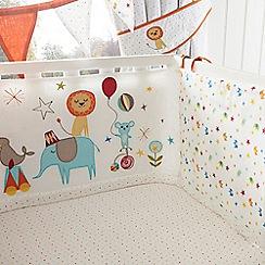 bluezoo - White circus print bumper
