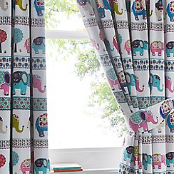 Butterfly Home by Matthew Williamson - White elephant parade curtains