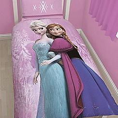 Disney Frozen - Kids' pink 'Frozen Spring' single duvet cover and pillow case set