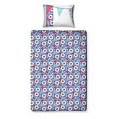 Peppa Pig - Flowery bedding set