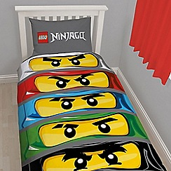 LEGO - Grey 'Ninjango' bedding set