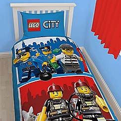LEGO - Blue 'City Heroes' bedding set