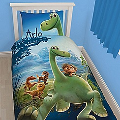 Disney Black - Blue 'Arlo' dinosaur bedding set