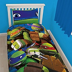 Disney Black - Green 'Teenage Mutant Ninja Turtles' bedding set