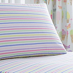 bluezoo - Multi stripe fitted sheets