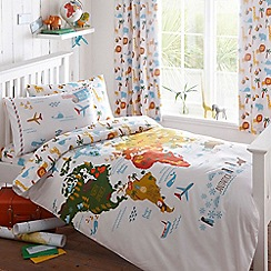 Ben de Lisi Home - Multi-coloured 'Around The World' bedding set
