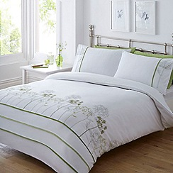 Home Collection - White 'Amelie' bedding set