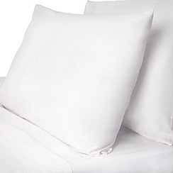 Dorma - Dorma White Dorma pure cotton fitted sheet set