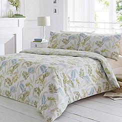Home Collection - Pale green 'Nevara' bedding set