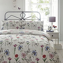 Home Collection - Botanical butterfly bedding set