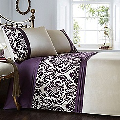 Home Collection - Chester purple bedding set