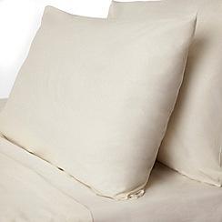 Dorma - Cream pure cotton bedding set