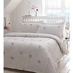 Debenhams - White floral ' Ellie' bedding set