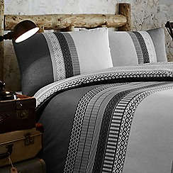 Home Collection - Braxton fairisle stripe bedding set